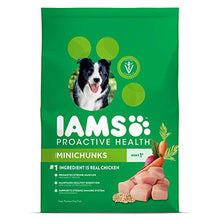 Load image into Gallery viewer, IAMS PROACTIVE HEALTH Adult Minichunks Dry Dog Food Chicken, 30 lb. Bag
