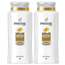 Load image into Gallery viewer, Pantene Moisturizing Shampoo for Dry Hair, Daily Moisture Renewal, 25.4 Fl Oz (Pack of 2) (Packaging May Vary)