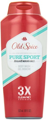 Old Spice High Endurance Body Wash, Pure Sport, 18 fl oz (532 ml)