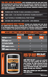 Body Fortress Super Advanced Whey Protein Powder, Chocolate, 2 lbs