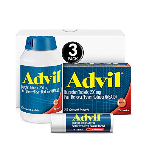 Three types of Advil included