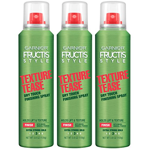 Garnier Hair Care Fructis Style Texture Tease Dry Touch Finishing Spray, 3 Count