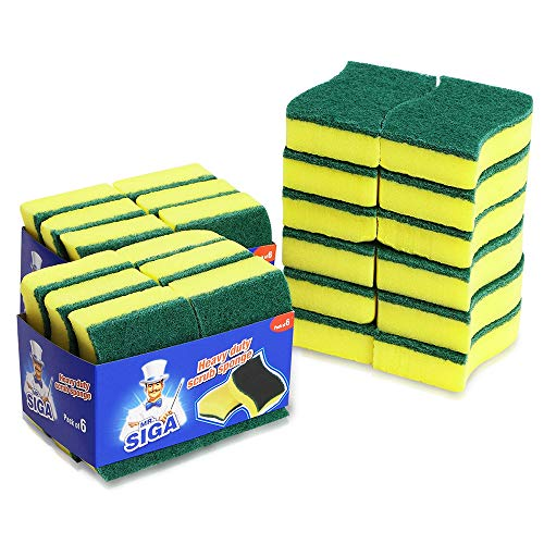 MR. SIGA Heavy Duty Scrub Sponge (24 Count)