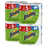 Bounty Select-a-Size Paper Towels, White, Huge Roll, 8 Count