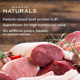Diamond Naturals ADULT Real Meat Recipe Premium Dry Dog Food with Real Pasture Raised Beef Protein 40lb