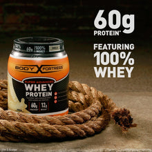 Load image into Gallery viewer, Body Fortress Super Advanced Whey Protein Powder, Chocolate, 2 lbs