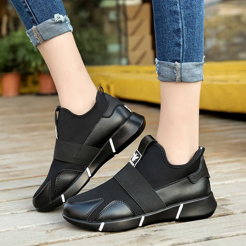 Fashionable Comfortable Women Orthopedic Walking Sneakers
