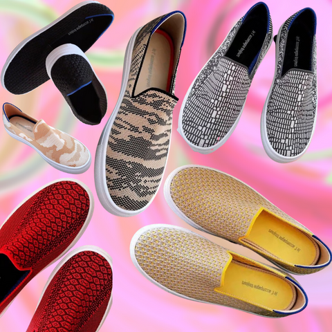 Slip-On Canvas Shoes for Women with Bunions