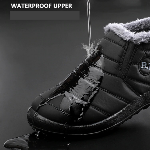 Women's Waterproof Snow Boots Foot Warmer Shoes for Bunions