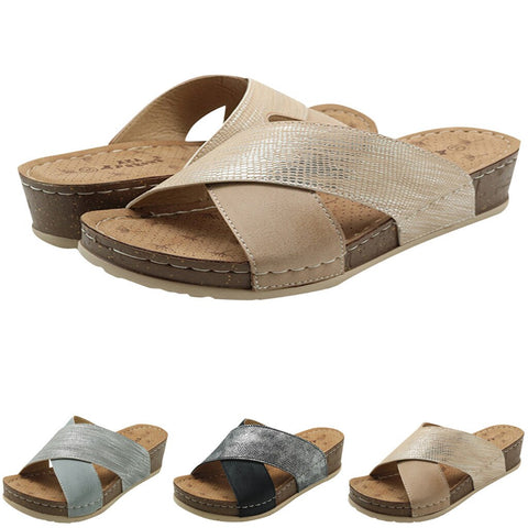 Bunion Corrector Open Toe Casual Sandals for Bunions
