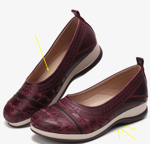Women's Floral Shoes for Bunions