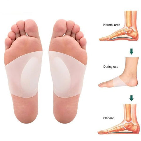 Foot Arch Support Orthopedic Insoles