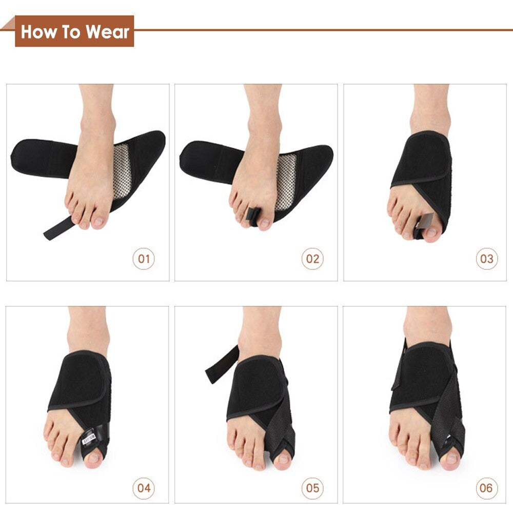 Self-Heating Magnetic Brace for Bunion - Hallux Valgus