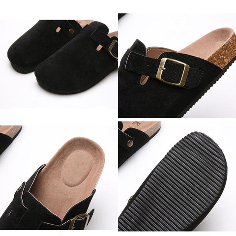 Women's Clogs Non-Slip Shoes for Bunions and Wide Feet