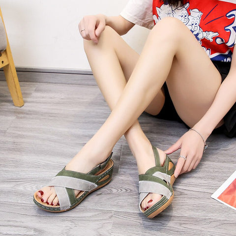 Women's Walking Sandals with Arch Support