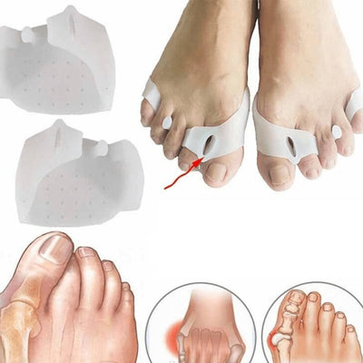 2 in1 Tailor's Bunion Toe Separator for Hallux Valgus - Bunion Free