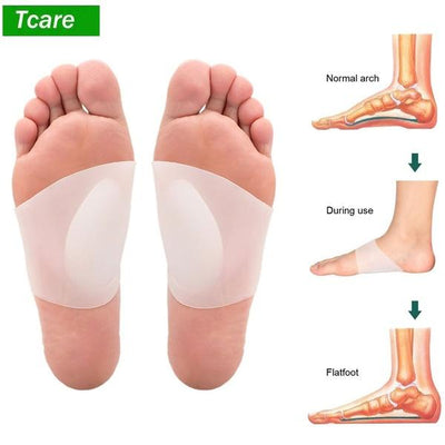 Foot Arch Support Orthopedic Insoles - Bunion Free