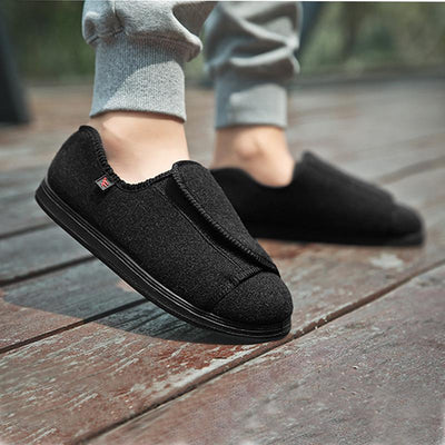 Velcro Fastening Comfortable Wide Fit Shoes for Bunions