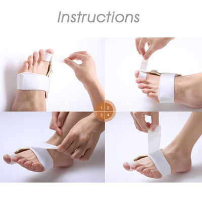 Orthopedic Bunion Corrector Device - 2 Pieces Set - Bunion Free