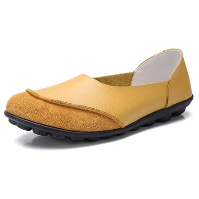 Soft Leather Women's Bunion Moccasins - Bunion Free