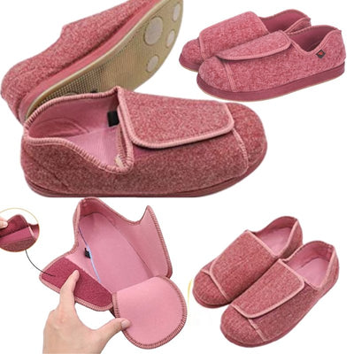Velcro Fastening Comfortable Wide Fit Shoes for Bunions - Bunion Free