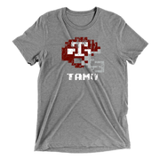 texas a&m tecmo bowl shirt - grey