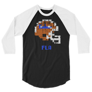 FL Gators | Tecmo Bowl Raglan Shirt
