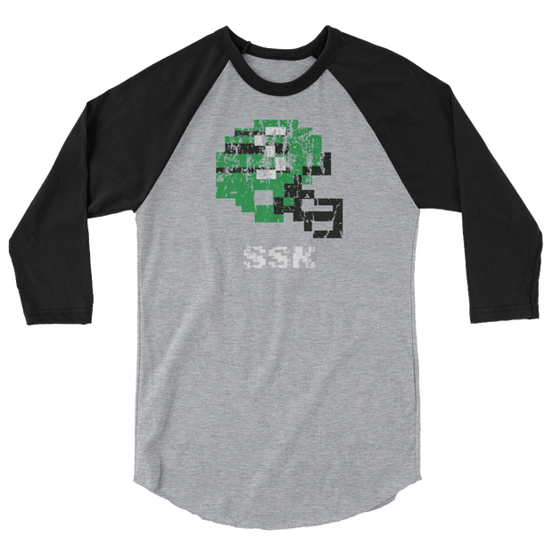 Saskatchewan Roughriders | Tecmo Bowl Raglan Shirt