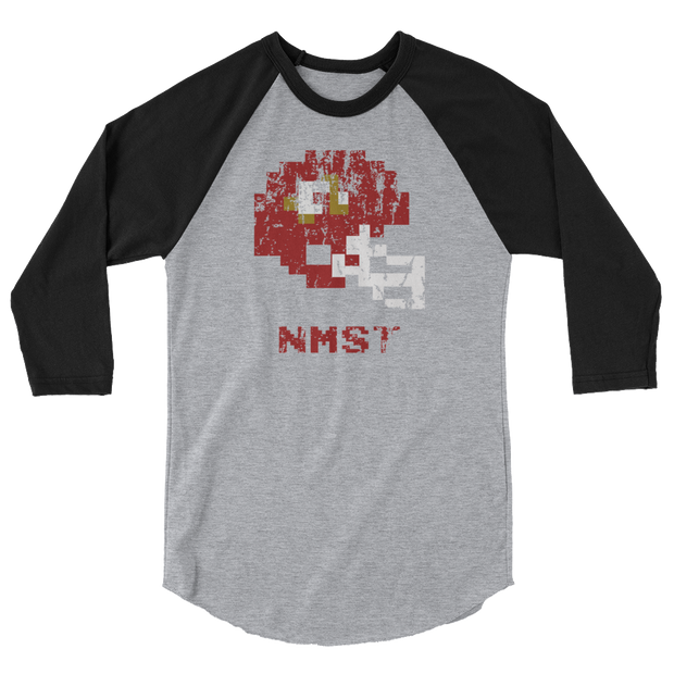 New Mexico State | Tecmo Bowl Raglan Shirt