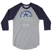 Dal Cowboys | Tecmo Bowl Raglan Shirt
