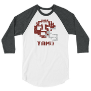 Texas A&M | Tecmo Bowl Raglan Shirt