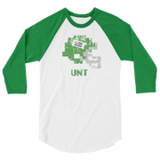 North Texas | Tecmo Bowl Raglan Shirt