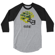 Ore Ducks | Tecmo Bowl Raglan Shirt