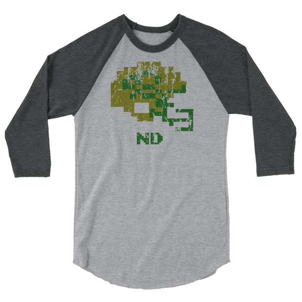 ND | Tecmo Bowl Raglan Shirt