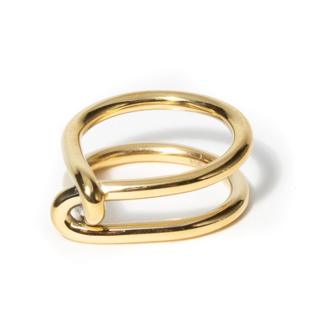 POLISHED KNOT RING