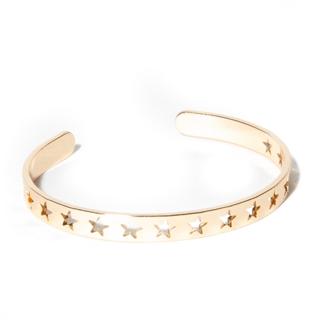 PERFORATED STAR CUFF