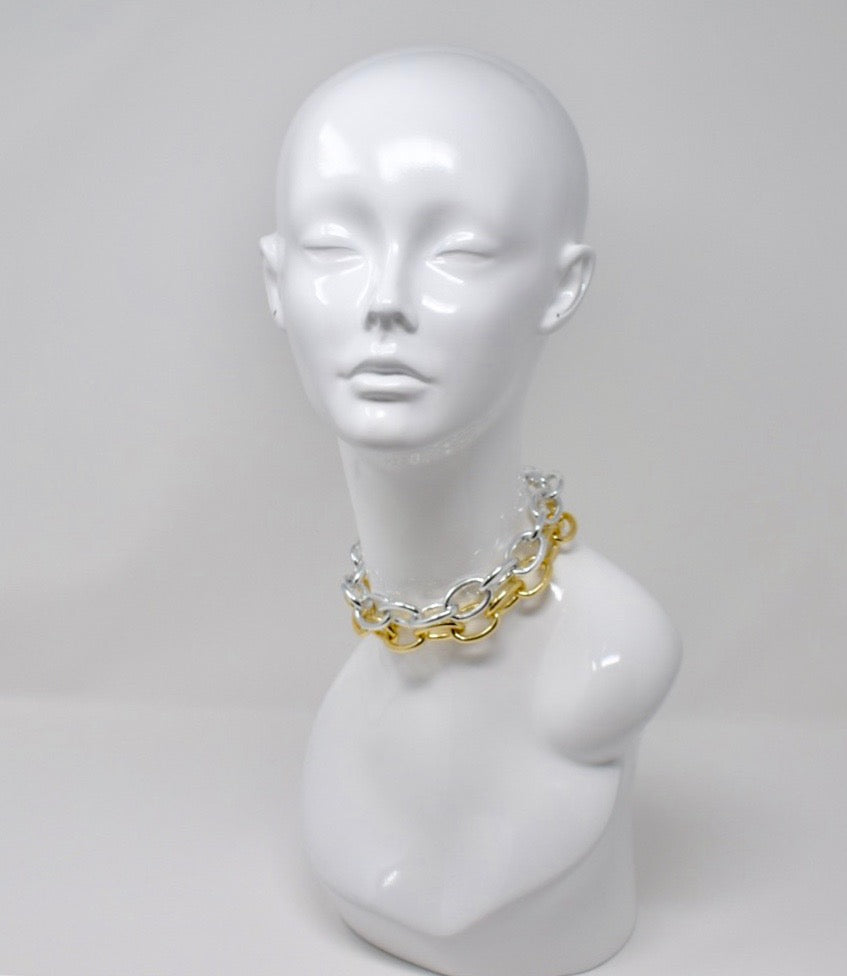 LARGE LINK CHAIN CHOKER