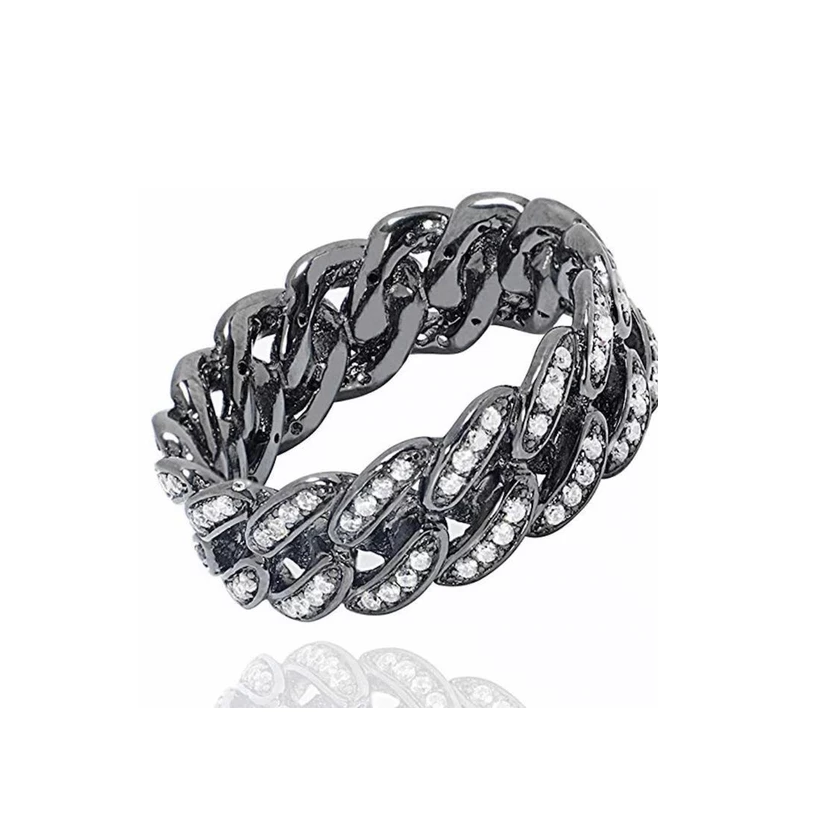 THIN PAVE CHAIN RING