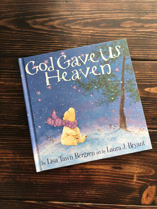 Faith45 - book - Children's book - God gave us heaven - Heaven