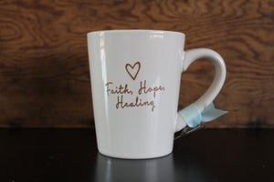 Faith45 - coffe mug - mug - faith - hope - healing