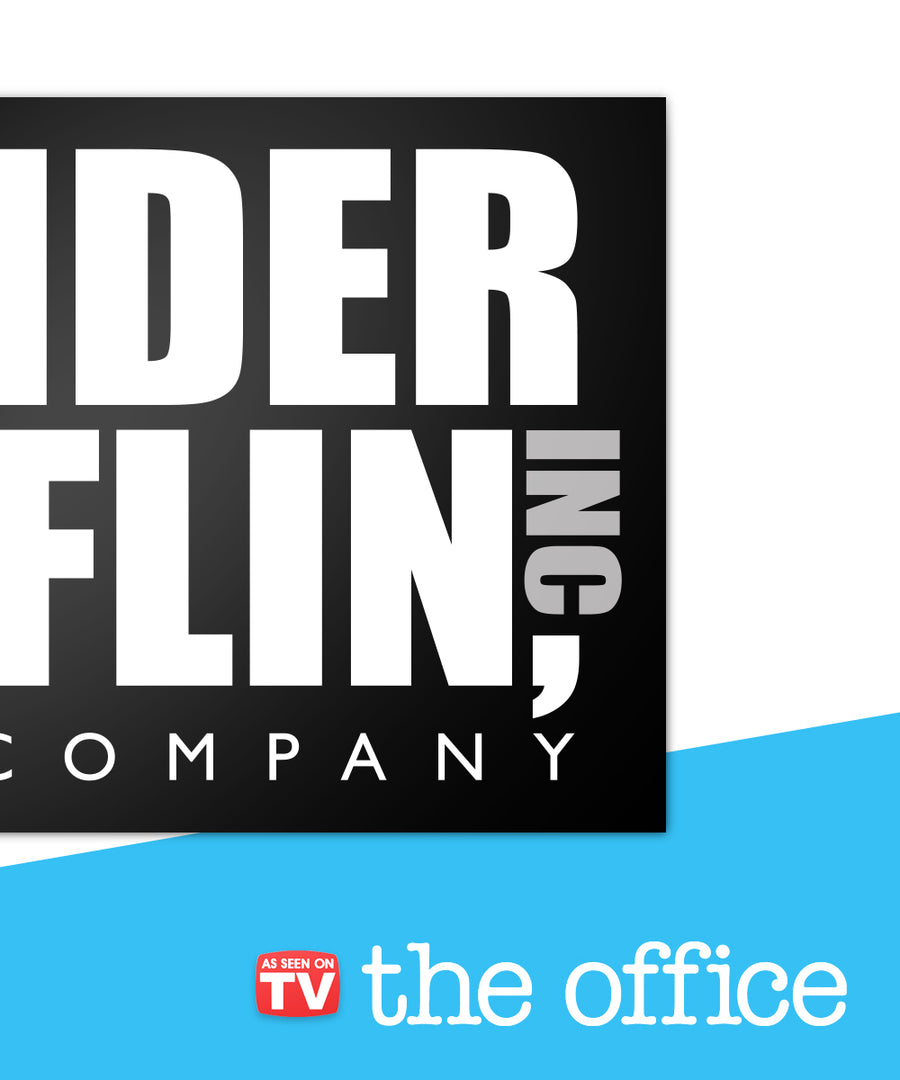 Dunder Mifflin Inc. Sign