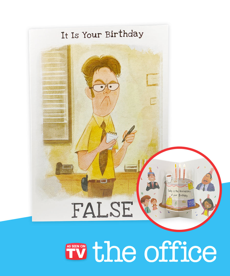 The Office Birthday Pop-Up Greeting Card
