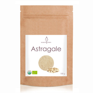 Organic astragalus root powder with many benefits - online sale - SECRETS D'EDEN
