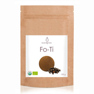 Fo-Ti (Ho Shou Wu) powder with many benefits - online sale - SECRETS D'EDEN