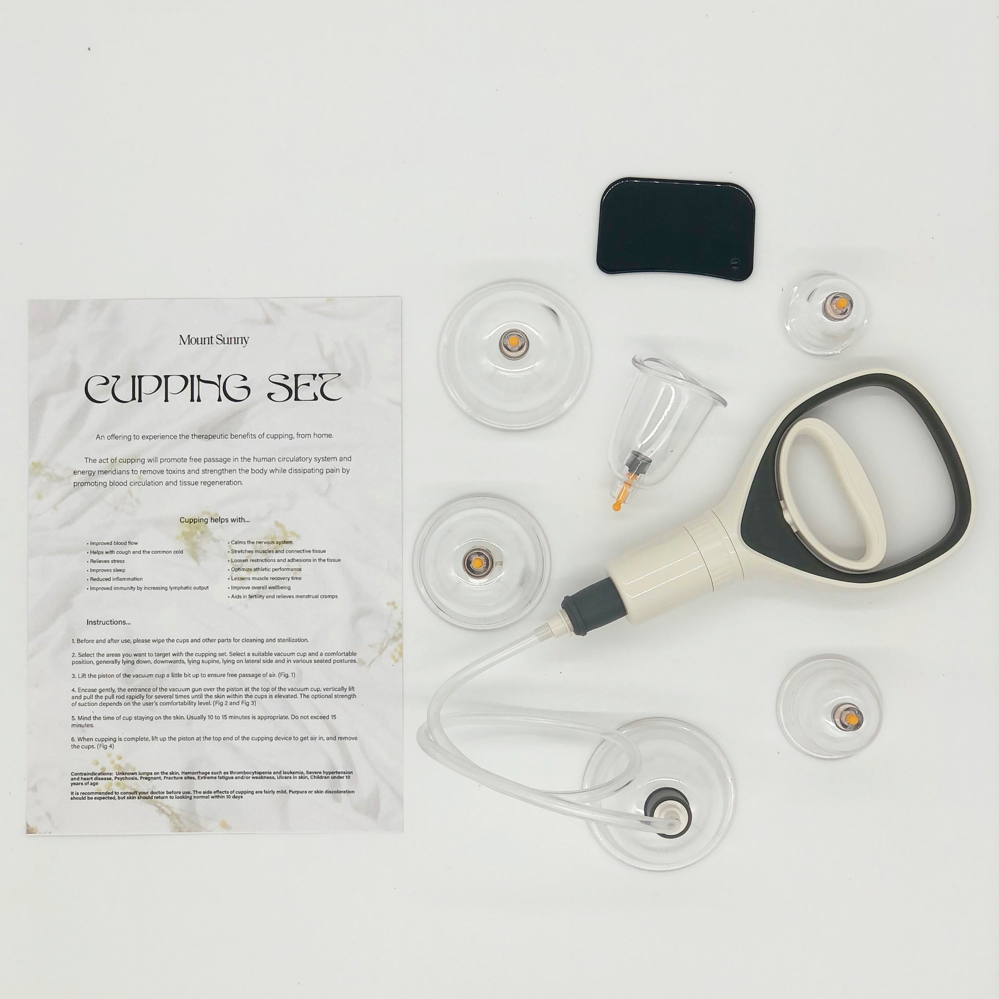 At-home Cupping Set (12 pcs)
