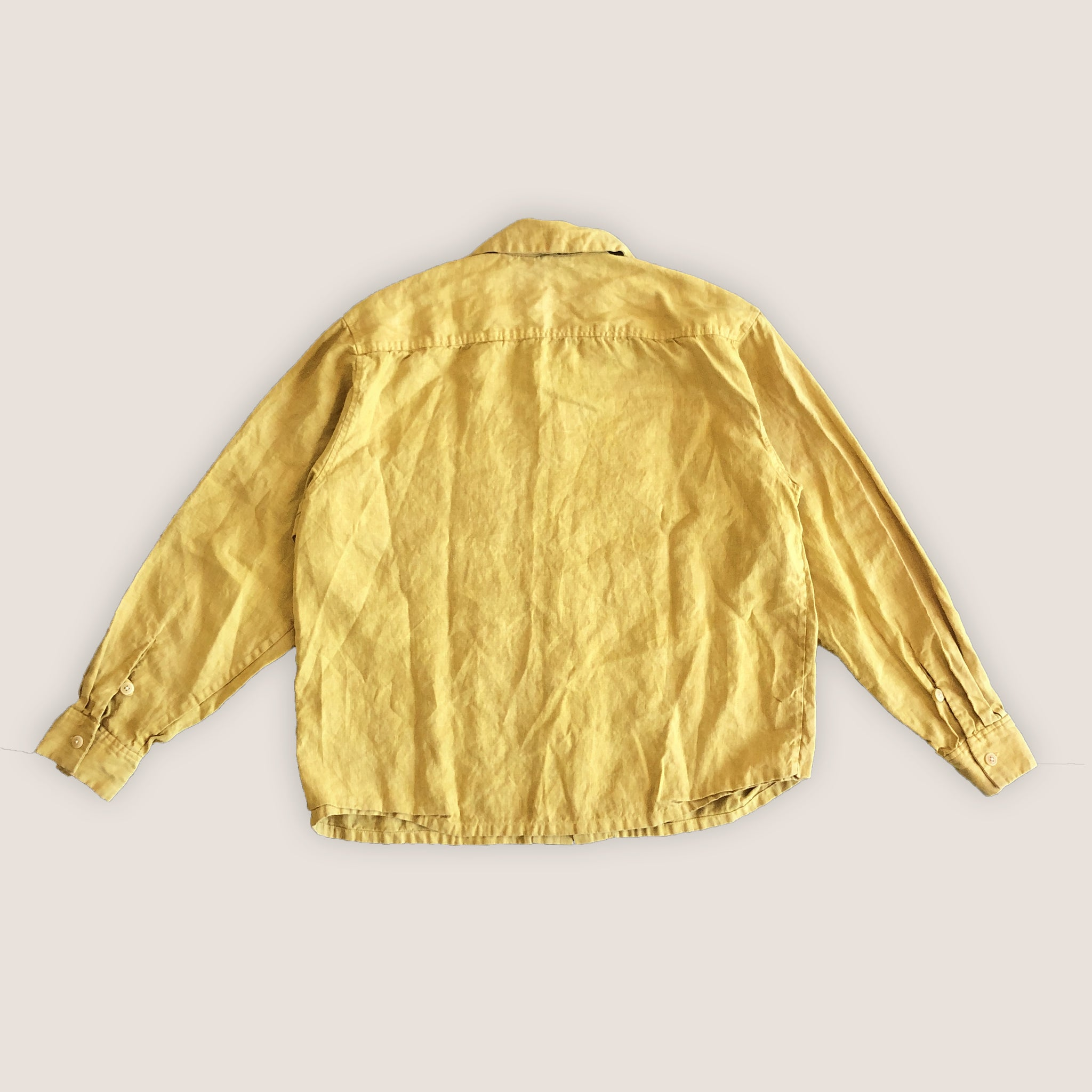 Camp Shirt - Big Sun (Yellow)