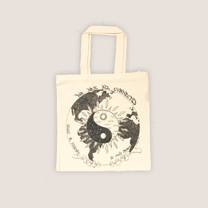 Connected Tote Bag - Natural