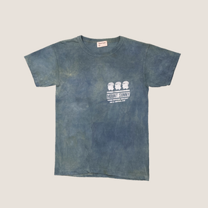 Come Discover Healing Tee - Happy Tree (Turmeric/Indigo)
