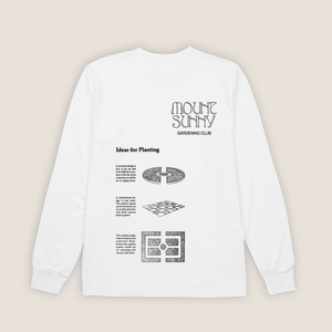 Gardening Club Long Sleeve T-shirt ~ Natural