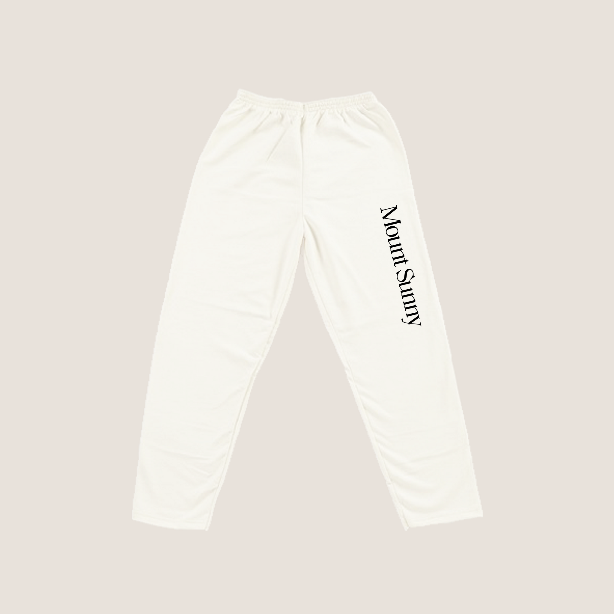 Logo Meditation Pants - Natural